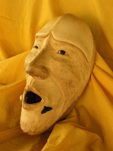 <strong>2004, a dancers mask, private collection</strong>